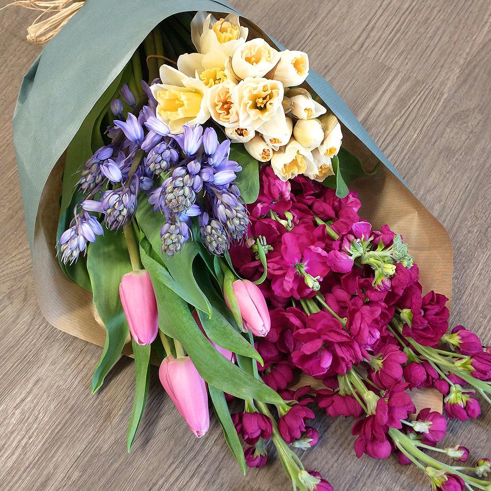 Selection of Seasonal Mixed Flowers