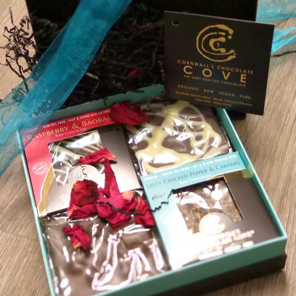 Cornwall's Chocolate Cove (Box of 4)